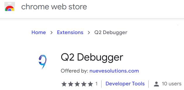 Q2 API Debugger – Chrome Extension